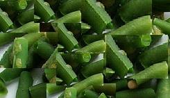 постные рецепты - салат из зеленой фасоли