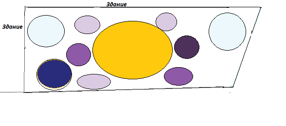 Цветник схема апрель 3