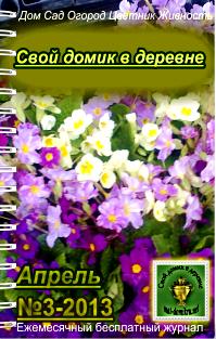 журнал Свой домик в деревне апрель 2013