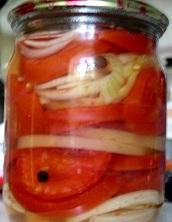 салат помидоры рецепты на зиму