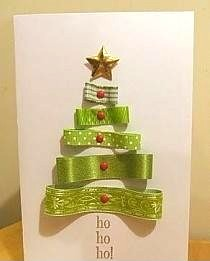 новогодняя елка из лент