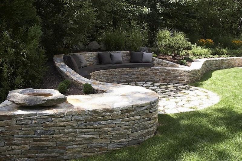 уютный сад - дизайн из камня