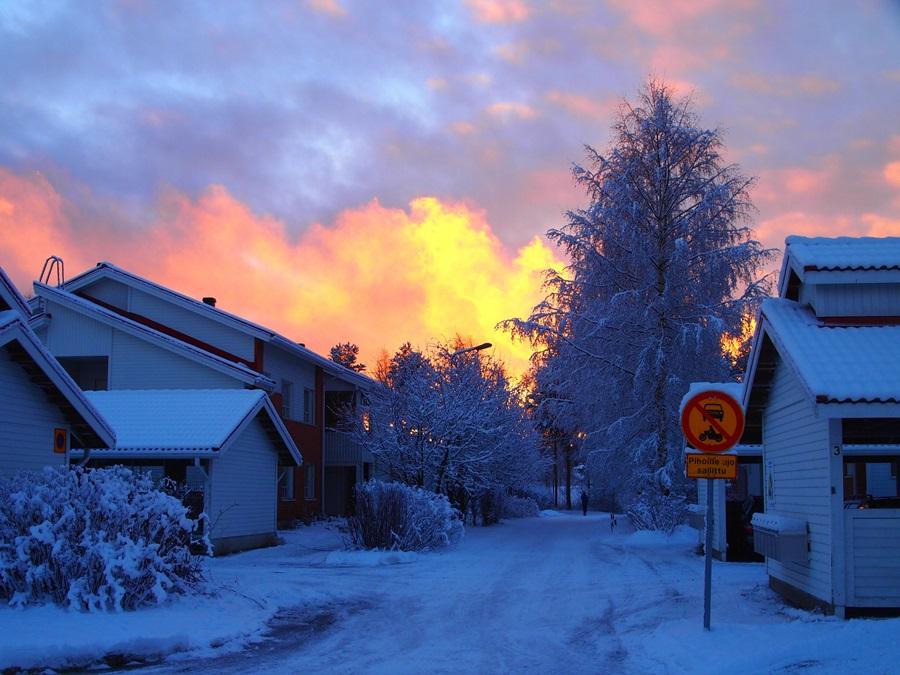 отопление в Финляндии 1