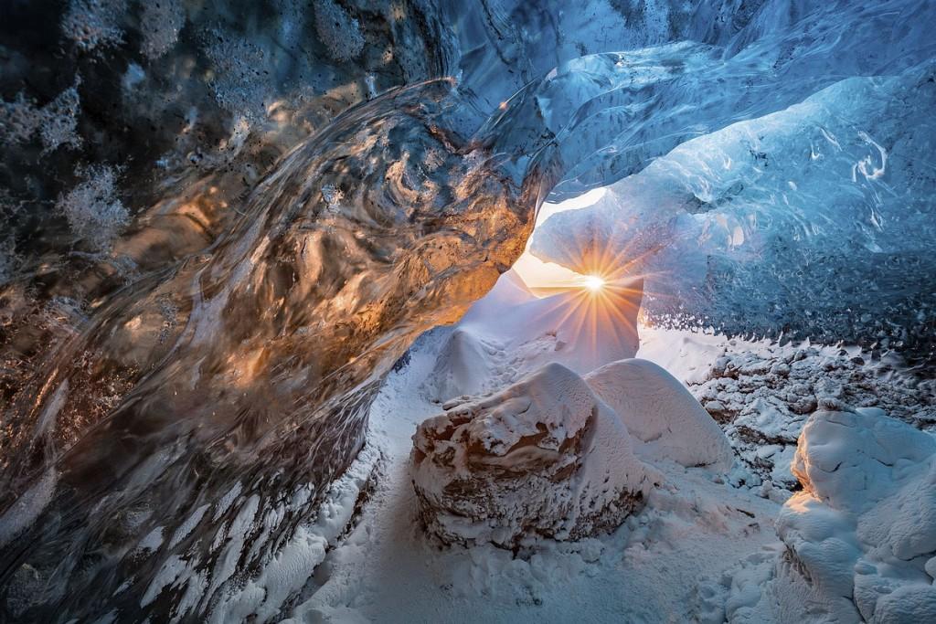 Ледяной пейзаж фото