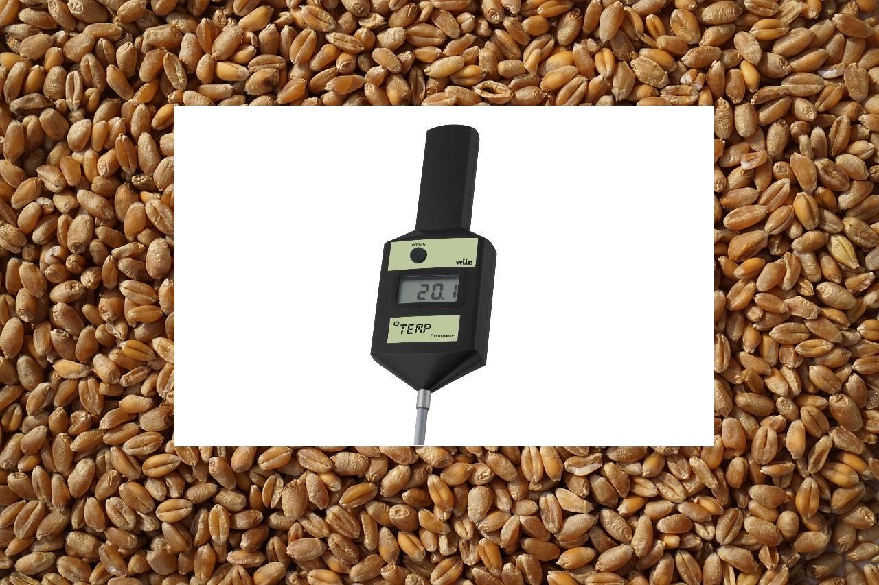 Температура хранения зерна - Термоштанга Wile Temp