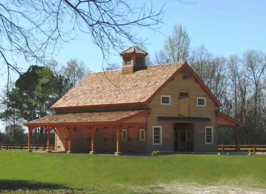 Теплый деревянный дом — лучшее решение
