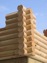 теплый деревянный дом