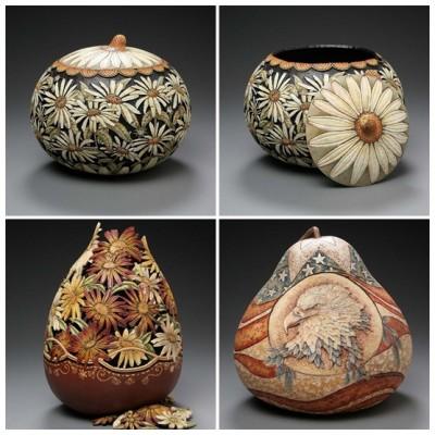 Тыква полелки вазы 3