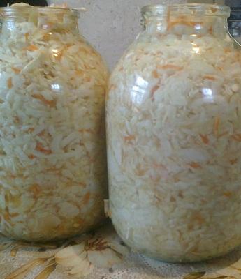 Квашеная капуста рецепт приготовления