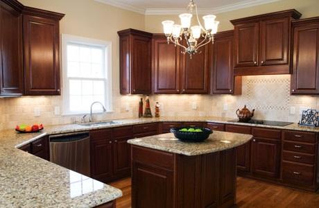 Интерьер кухни в доме своими руками
