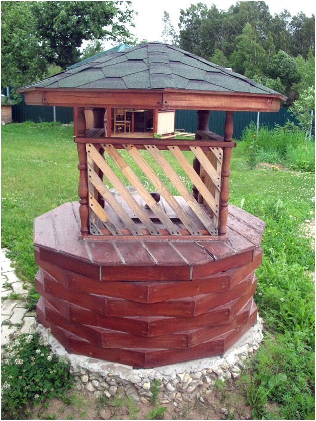 домик для колодца 12