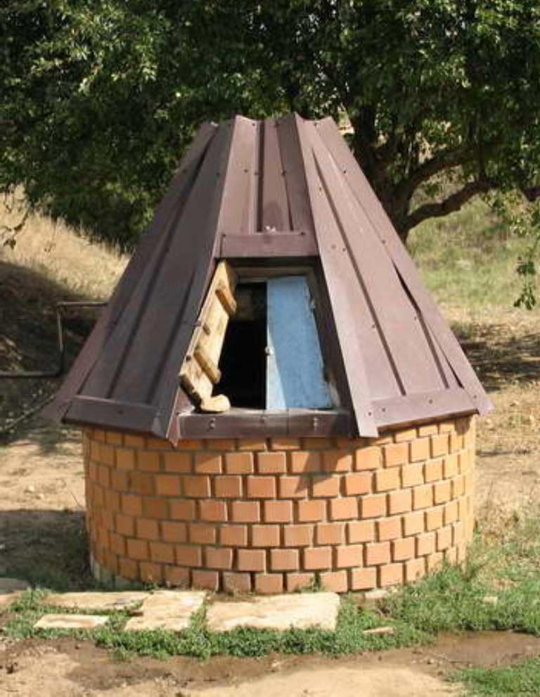 домик для колодца 13