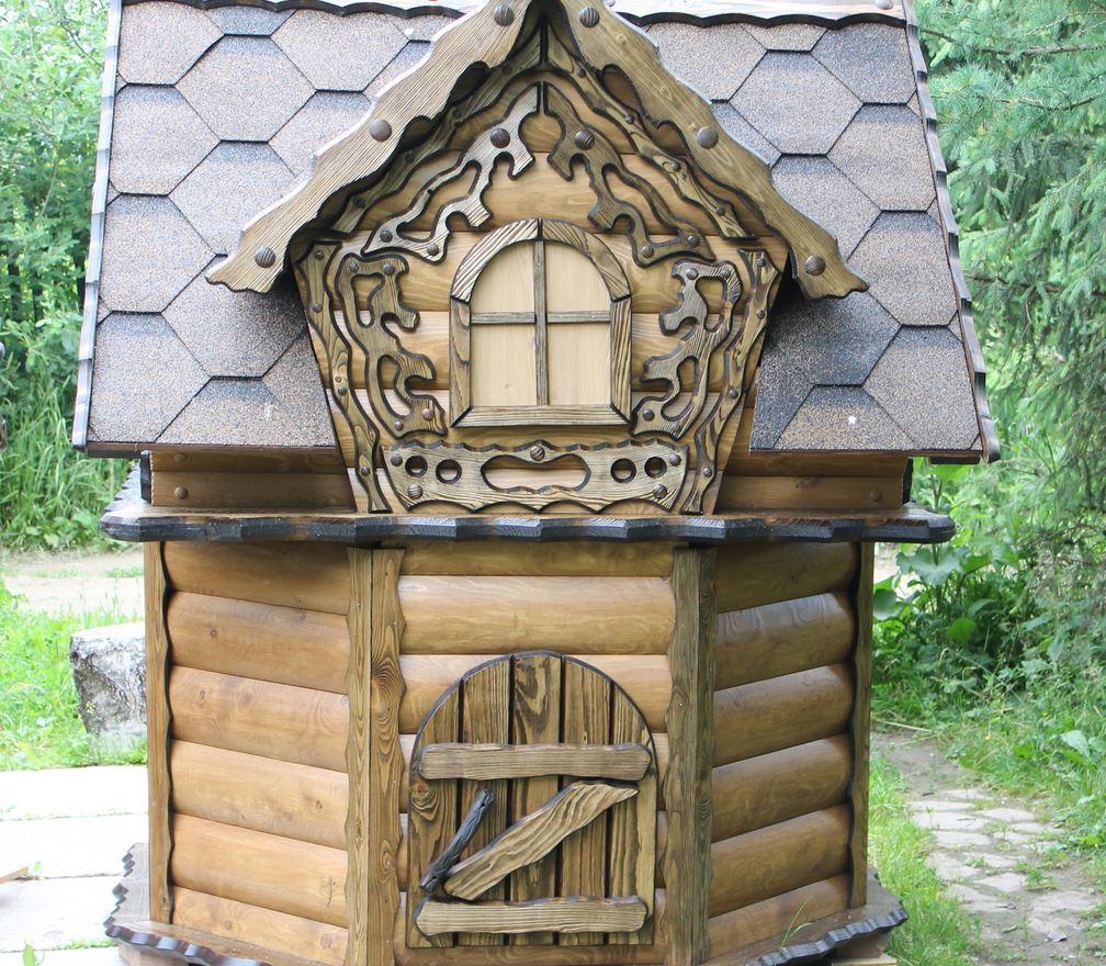 домик для колодца 17