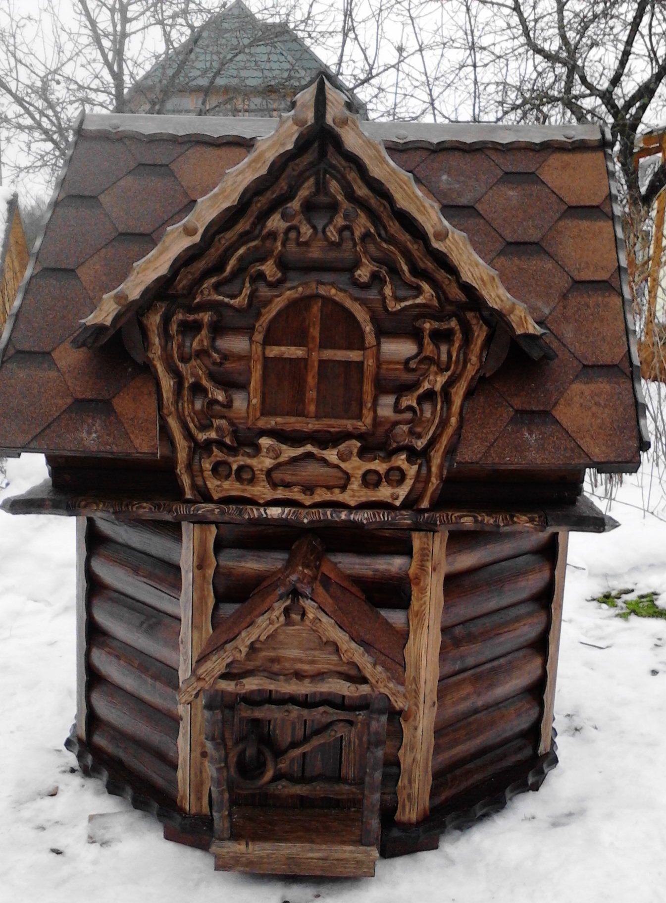 домик для колодца 20