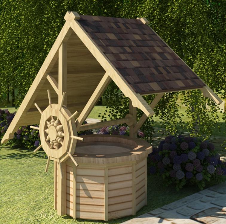 домик для колодца 21