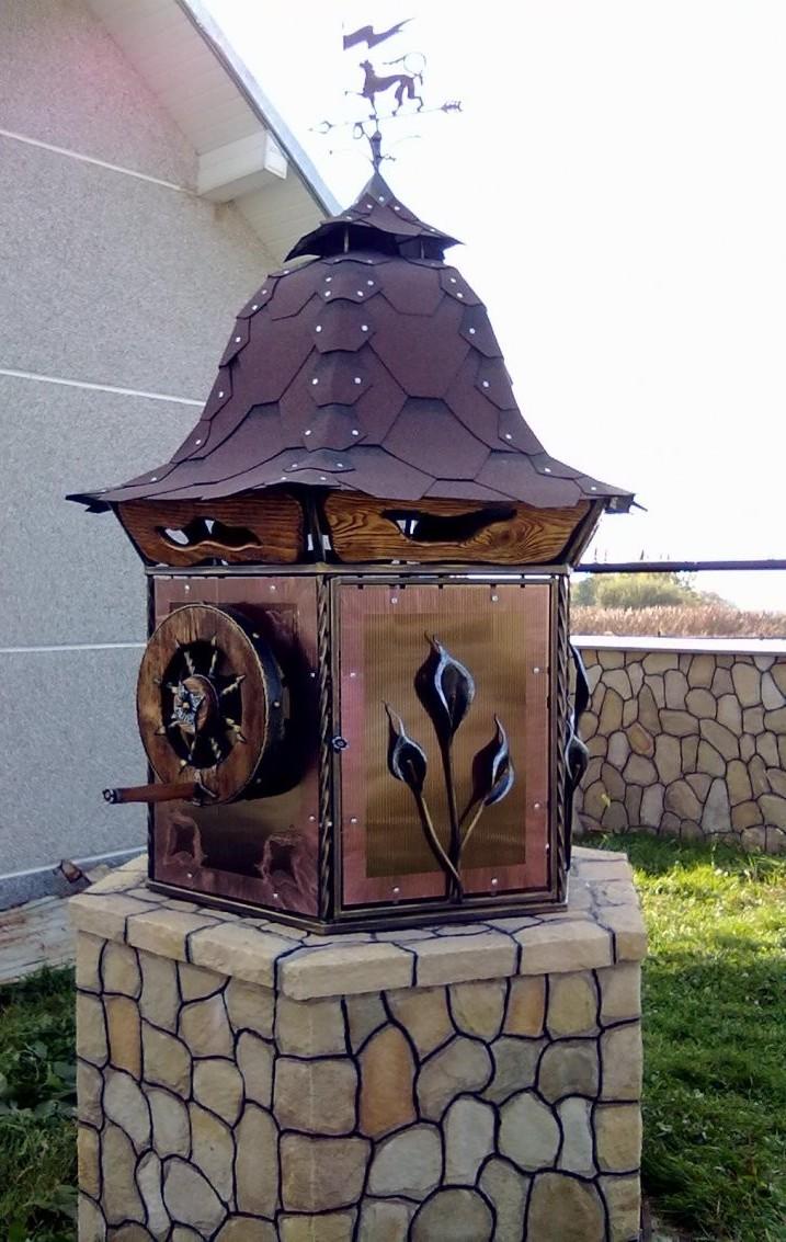 домик для колодца 22