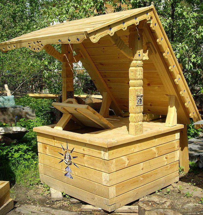 домик для колодца 4