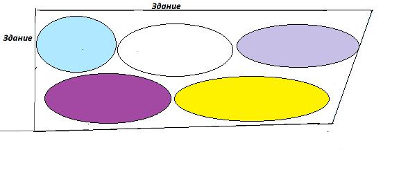 Цветник схема апрель