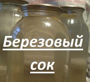 березовый сок рецепт 3