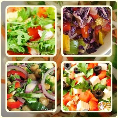 Традиционные заправки для салатов