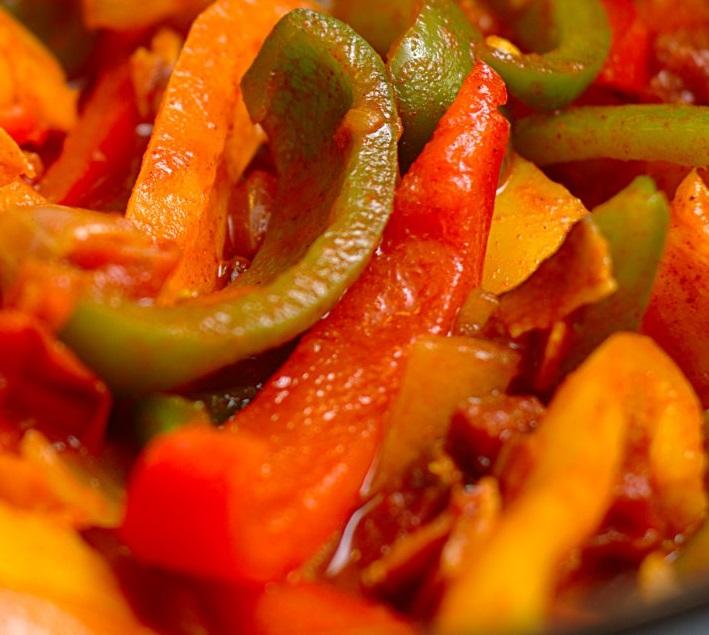 рецепт лече из болгарского перца с луком