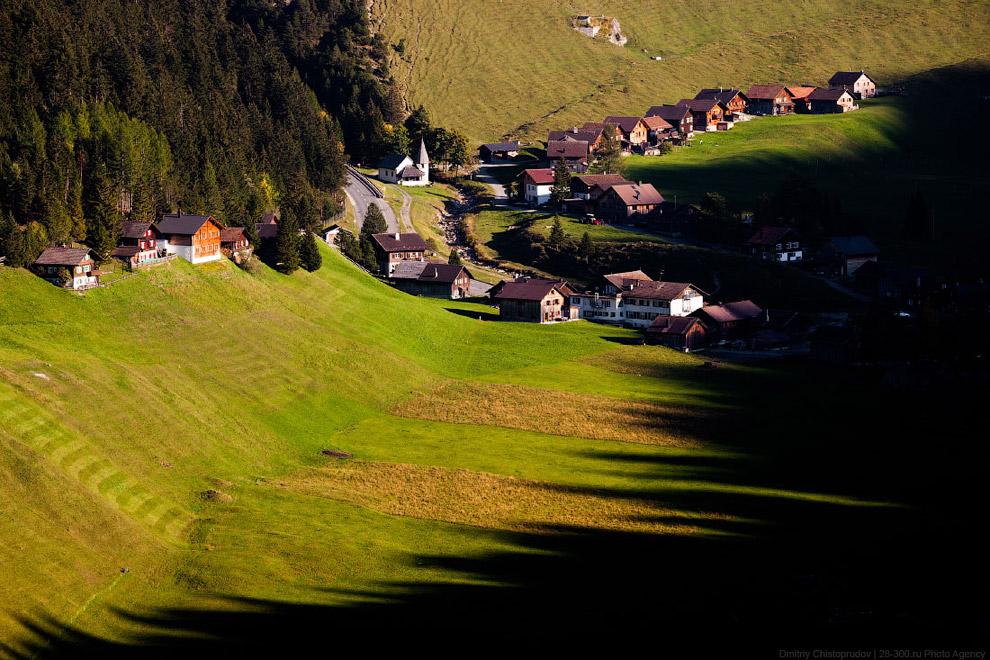 Домик в деревне - княжество Лихтенштейн