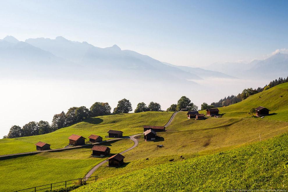 деревни мира - княжество лихтенштейн