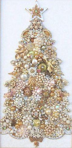 красивая новогодняя елочка своими руками