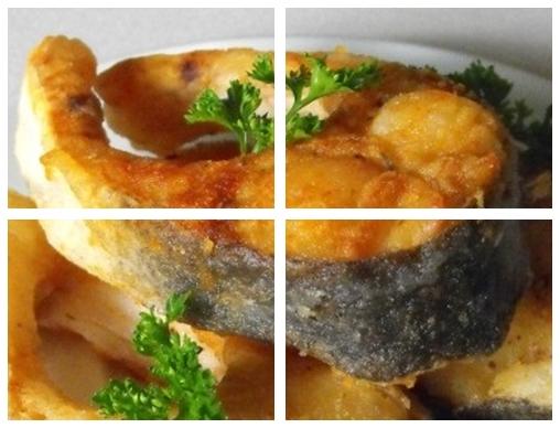 рыба жареная Подковы
