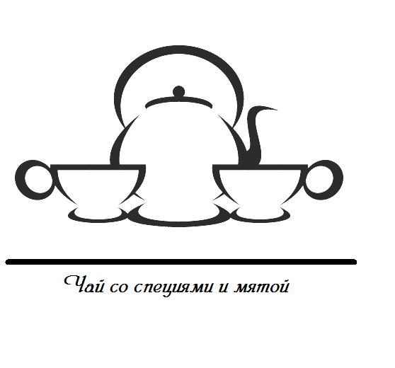 чай со специями и мятой
