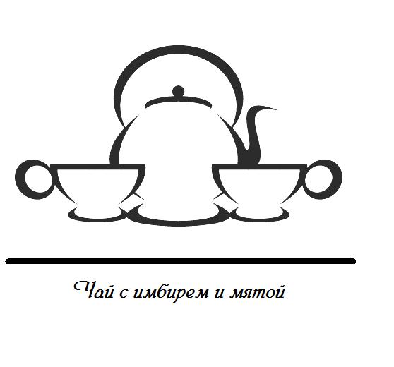 чай с имбирем и мятой