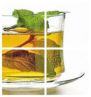 чай с мятой со льдом