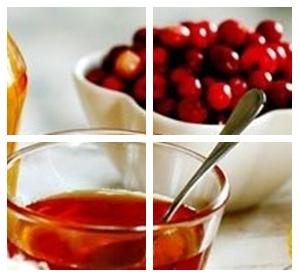 чай с соком ягод