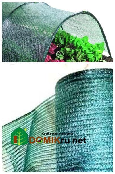 Защитная затеняющая сетка для растений- а вы применяете?