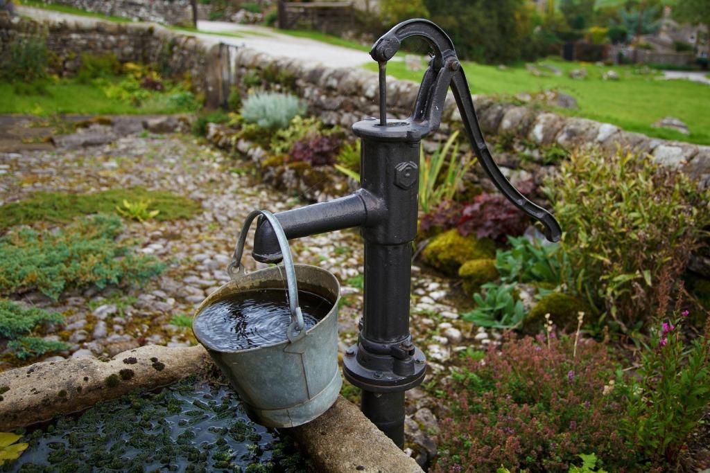 вода в своем доме