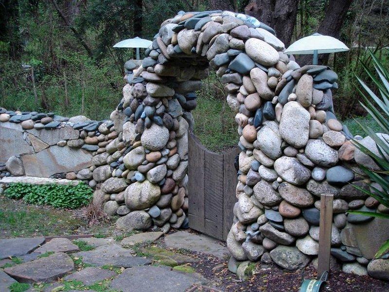 ландшафтный дизайн своими руками из камня