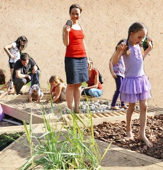 сенсорный уголок в своем саду - ландшафтный дизайн сада