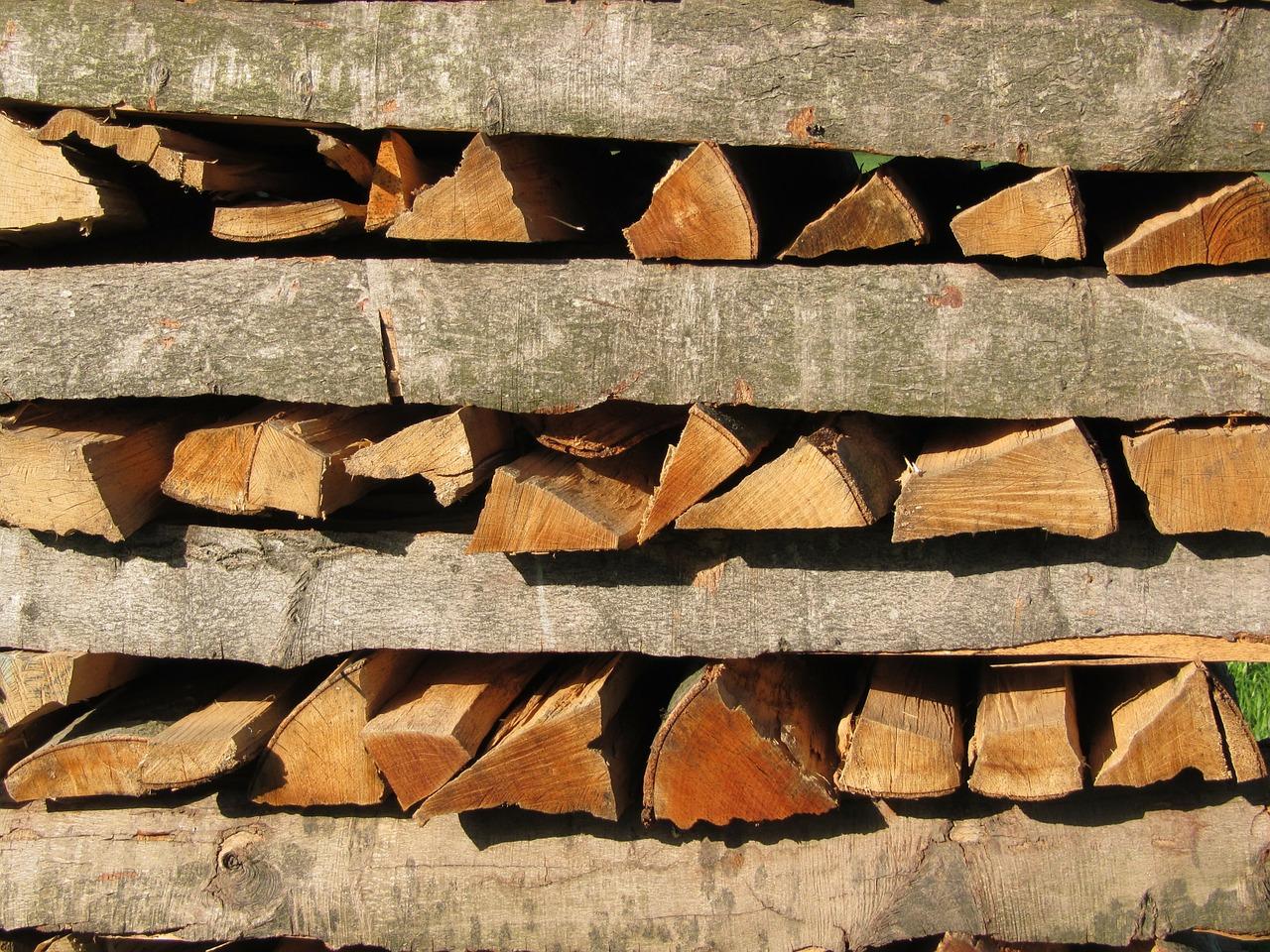 как сложить дрова красиво 1