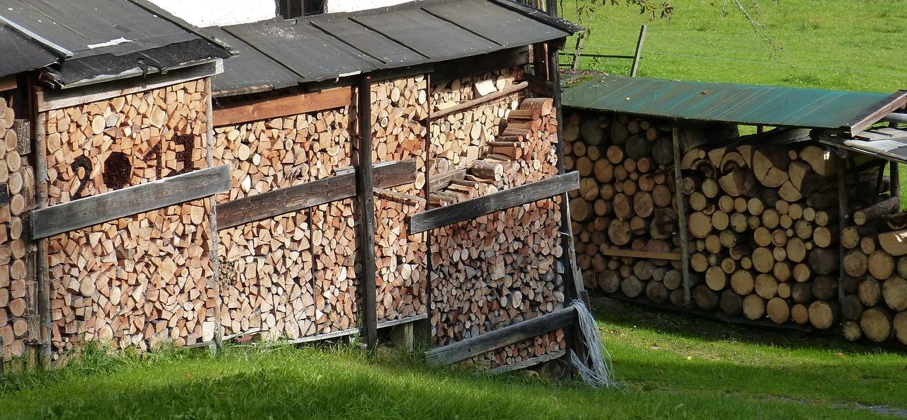 как сложить дрова красиво 10