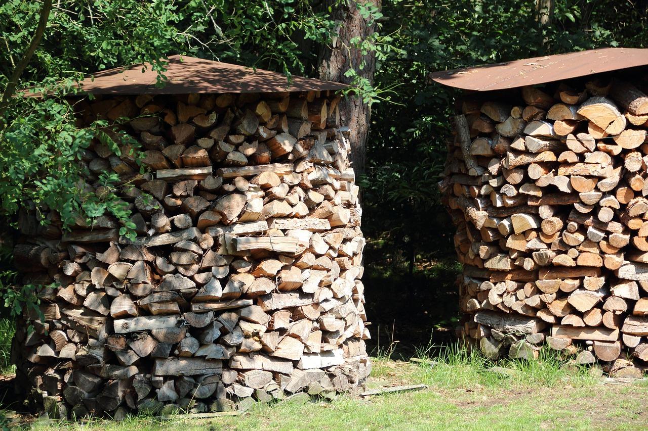 как сложить дрова красиво 14