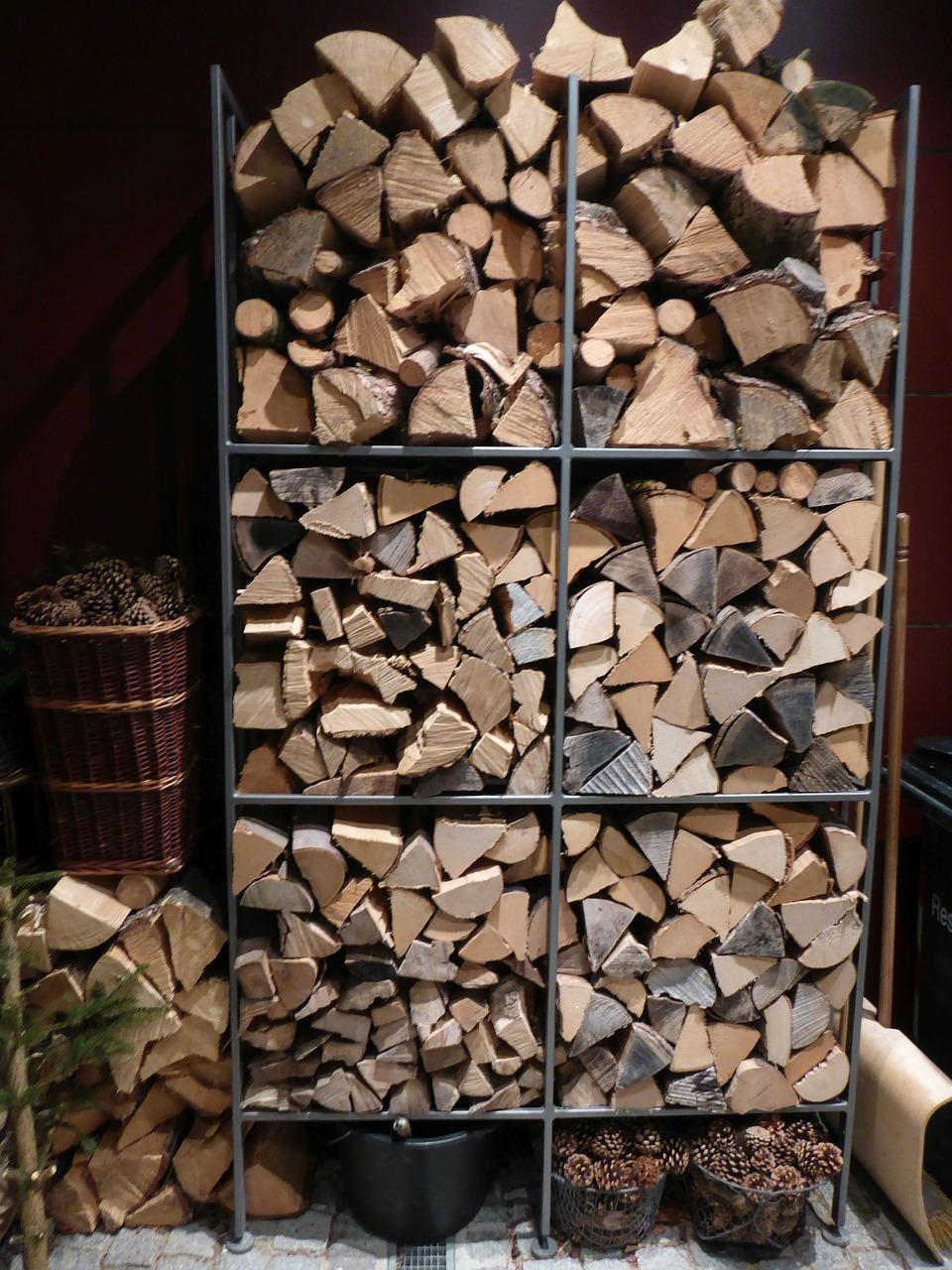 как сложить дрова красиво 15