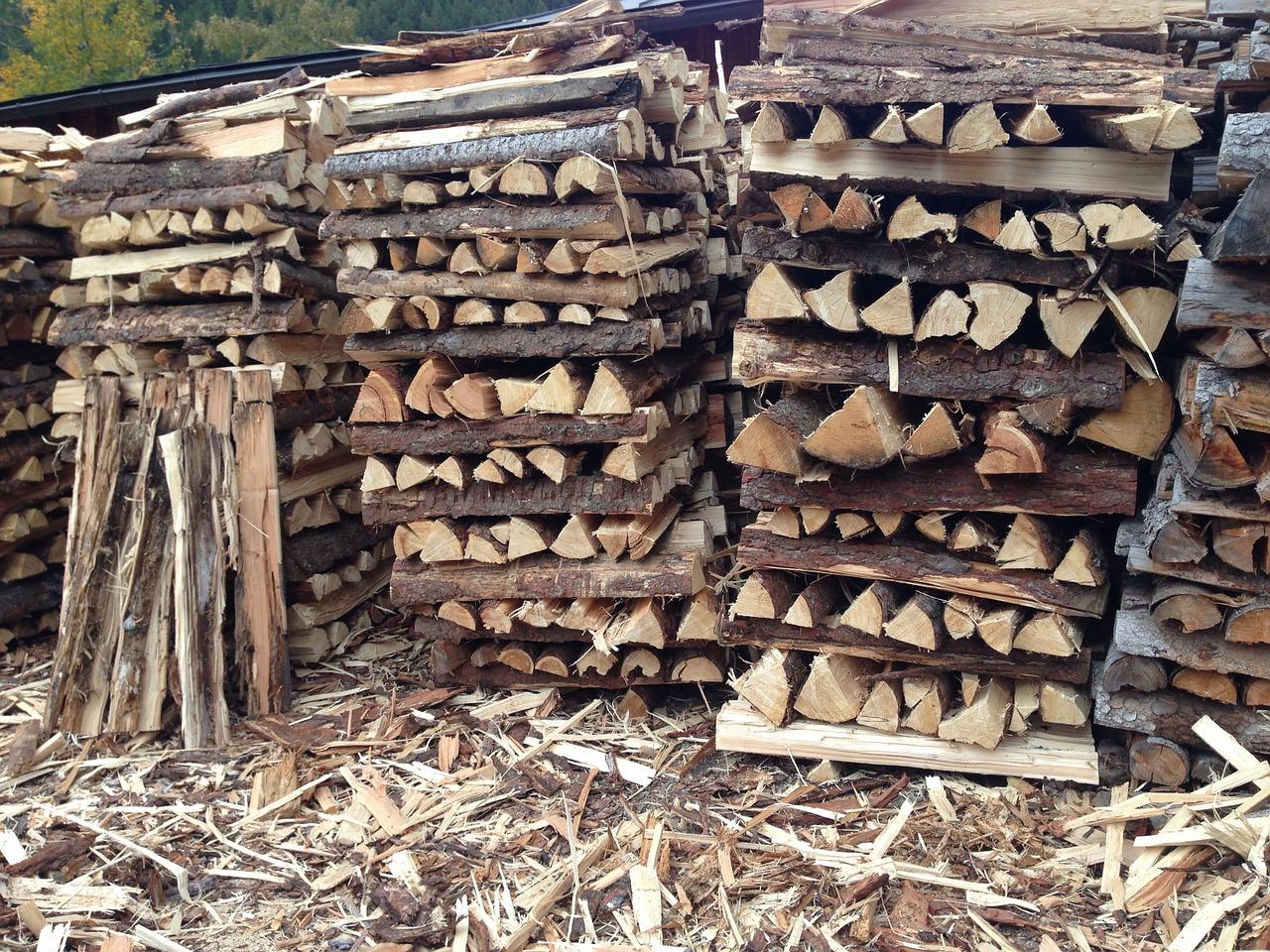 как сложить дрова красиво 16