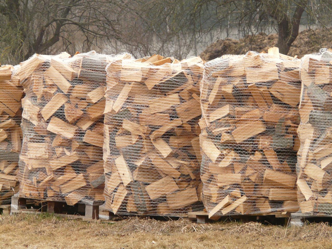 как сложить дрова красиво 2