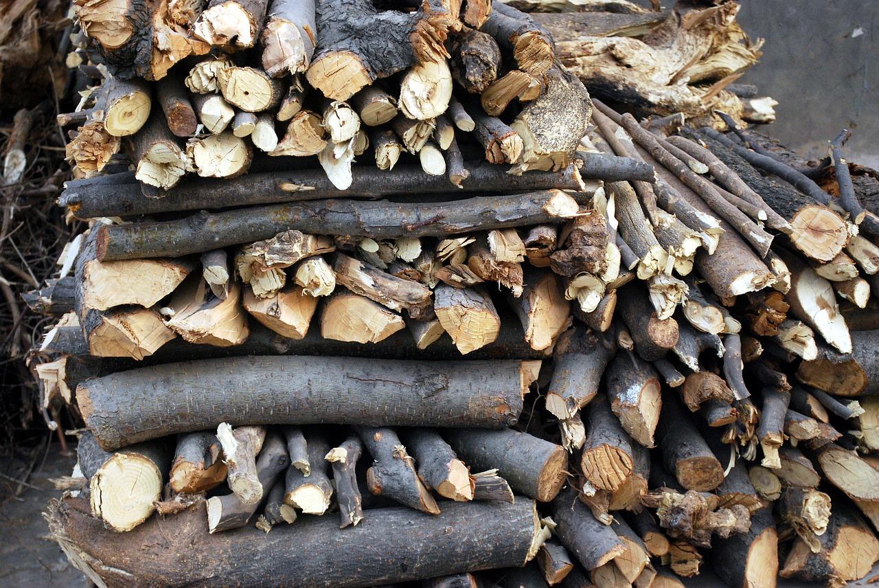 как сложить дрова красиво 3