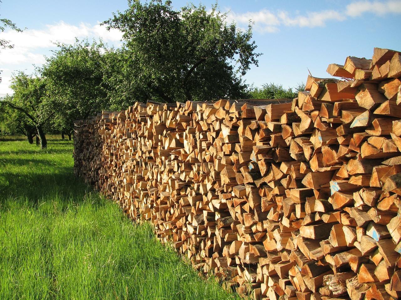 как сложить дрова красиво 5