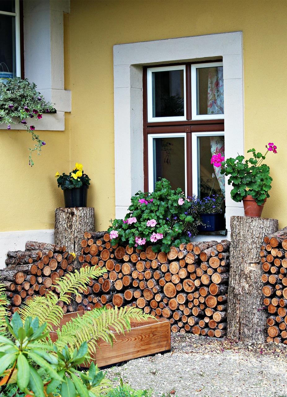 как сложить дрова красиво 8