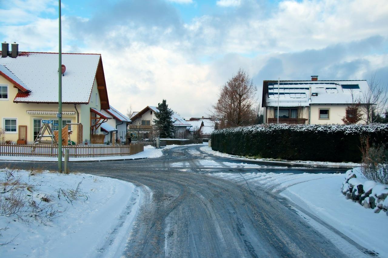 красивая деревня зимой фото 11