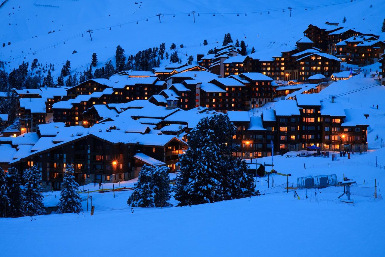 красивая деревня зимой фото 16