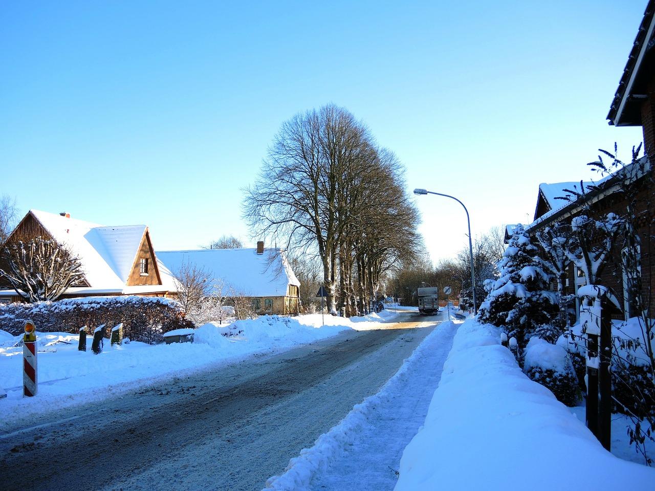красивая деревня зимой фото 22