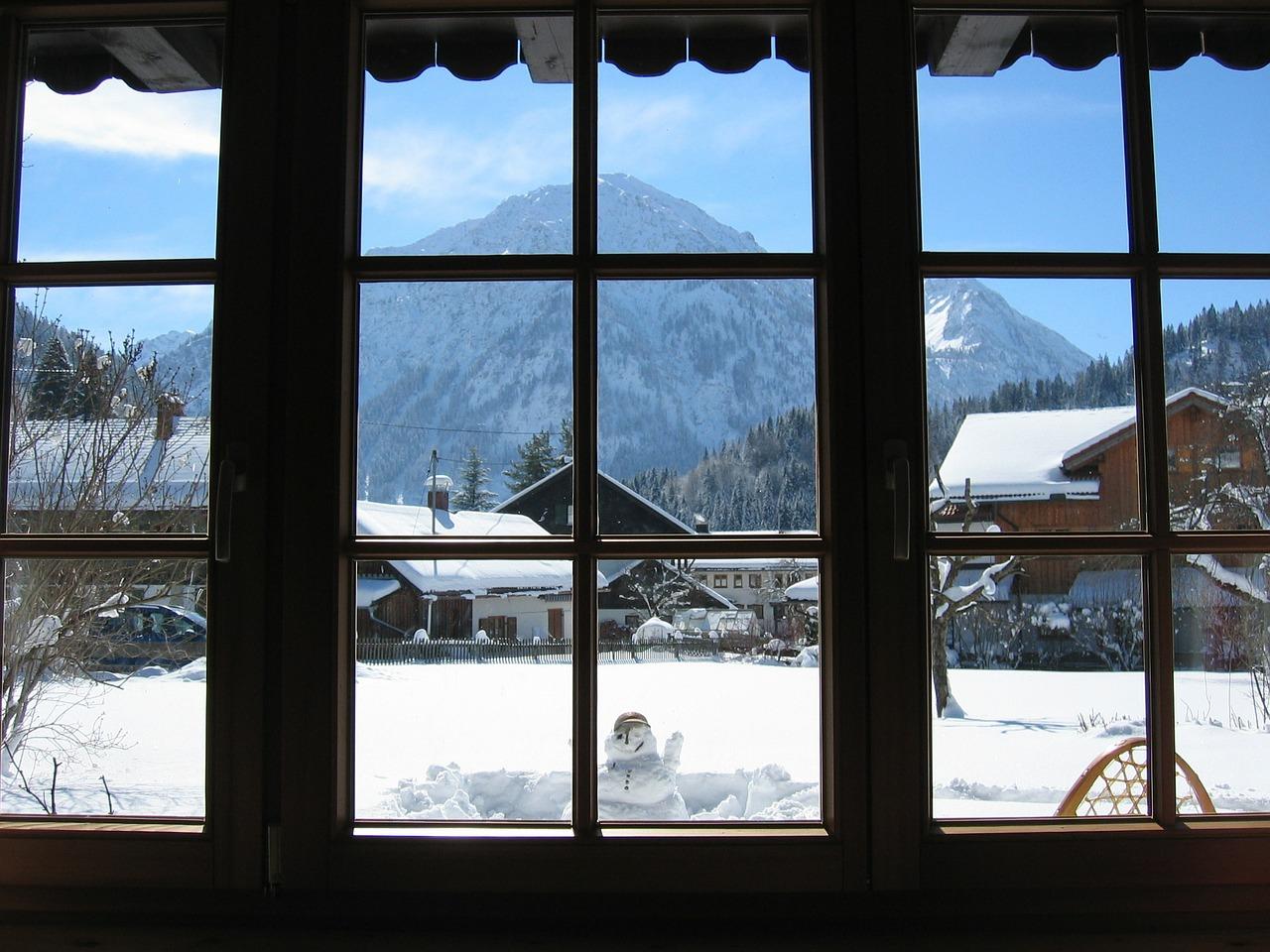 красивая деревня зимой фото 3